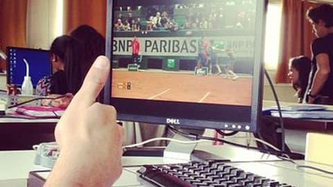 Roland-Garros s'invite au bureau