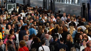 La SNCF vent parfois plus de places que de places assises (image d'illustration).