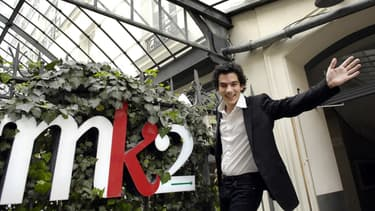 Nathanaël Karmitz, président du directoire de MK2.