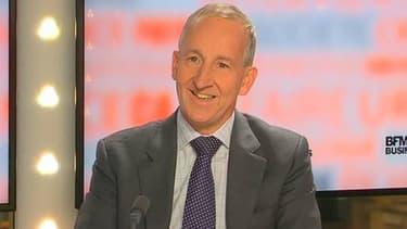 Sir Peter Ricketts était l'invité de BFM Business, ce mercredi 16 octobre.