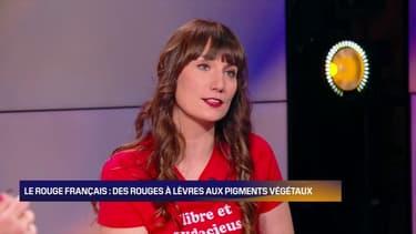"""La première gagnante du casting de Lyon de la BFM Académie est Elodie Carpentier, avec """"Le Rouge Français"""""""