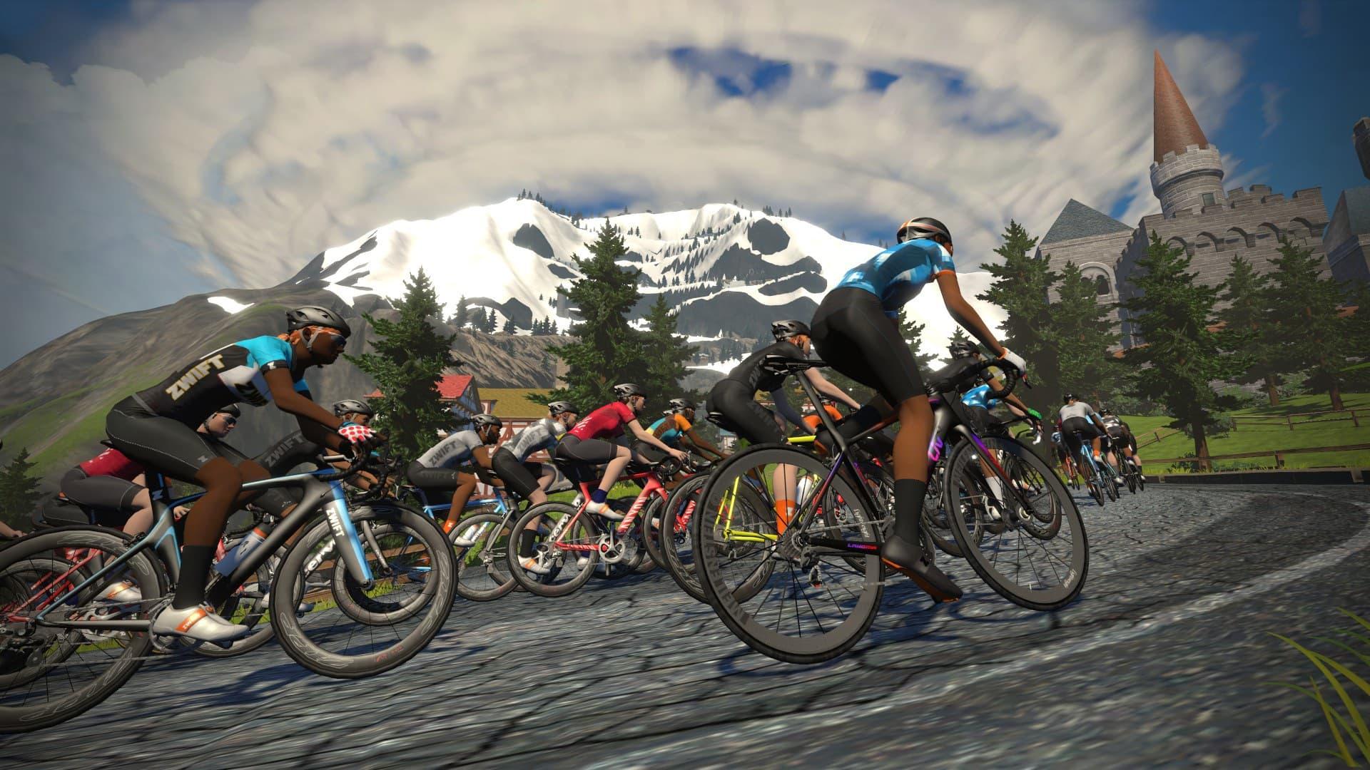 50 000 Accros Au Velo Participent Au Premier Tour De France Virtuel