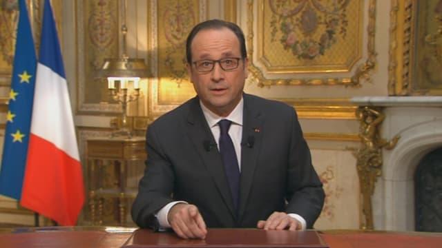 """François Hollande a également jugé que la Loi Macron va donner """"un coup de jeune"""""""