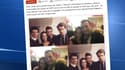 Marianne a reproduit des clichés publiés sur le Facebook d'une militante FN où on la voit fêter le nouvel an avec Florian Philippot et des responsables UMP.