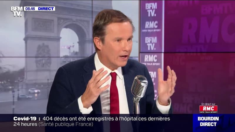 """Nicolas Dupont-Aignan: """"Il faut apprendre à vivre avec le virus, arrêtons de tuer notre pays par des mesures stupides"""""""