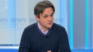 """Riss, directeur de """"Charlie Hebdo"""", le 21 février 2017."""