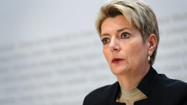La ministre suisse de la Justice, Karin Keller-Sutter. (Photo d'illustration)