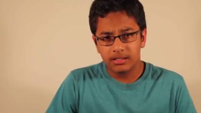 Shubham Banerjee ignorait encore tout du braille il y a un an