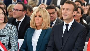 Emmanuel Macron le 31 mai 2018 à Ferney-Voltaire