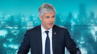 Laurent Wauquiez, président Les Républicains, ce mardi soir sur BFMTV.