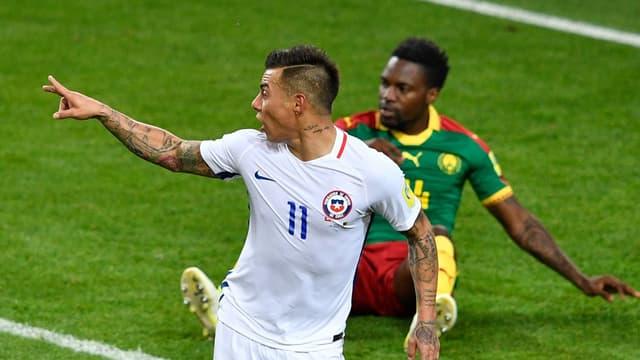 Vargas buteur contre le Cameroun