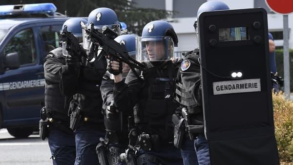 Exercice de prise d'otages par la gendarmerie en 2016.