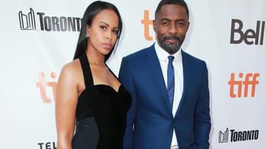 Idris Elba et Sabrina Dhowre  à Toronto en septembre 2017