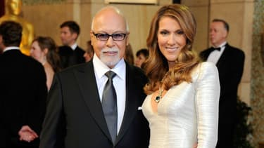 Céline Dion et René Angélil aux Oscars en 2011