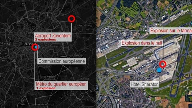 14 morts et 96 blessés dans les attentats de Bruxelles - Mardi 22 mars 2016