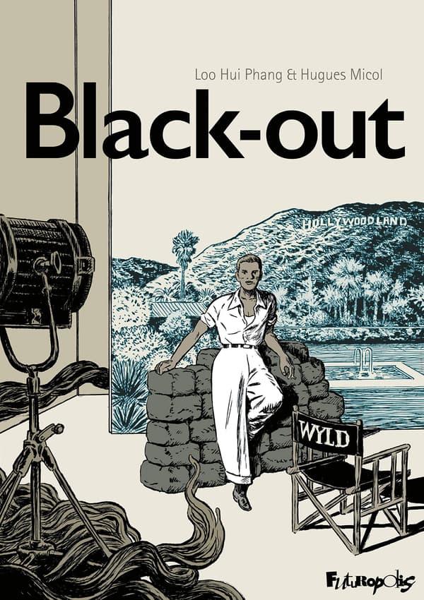 """Couverture de la BD """"Black-out"""""""