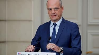 Le ministre de l'Education Jean-Michel Blanquer, le 9 décembre 2020 à Paris