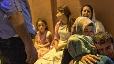 Un attentat a fait au moins 30 morts le 20 août à Gaziantep, en Turquie. Le président Erdogan y voit la marque de Daesh. - AHMED DEEB - AFP