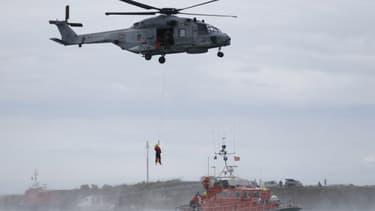 Un hélicoptère de la SNSM, image d'illustration