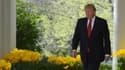 Donald Trump à la Maison Blanche, le 10 avril.