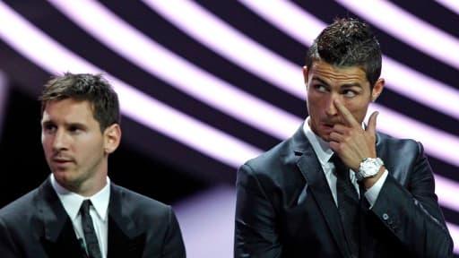 Lionel Messi et Cristiano Ronaldo sont les deux grandes stars du football mondial.