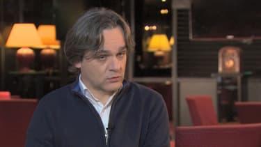 Riss, interviewé par la télévision CNN.