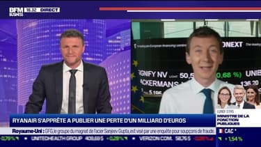 Ryan s'apprête à publier une perte d'un milliard d'euros - 14/05