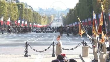 Les commémorations de l'armistice, le 11-Novembre 2016.
