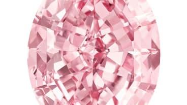 """Le """"Pink Star"""" est un des diamants les plus purs mis en vente sur le marché."""