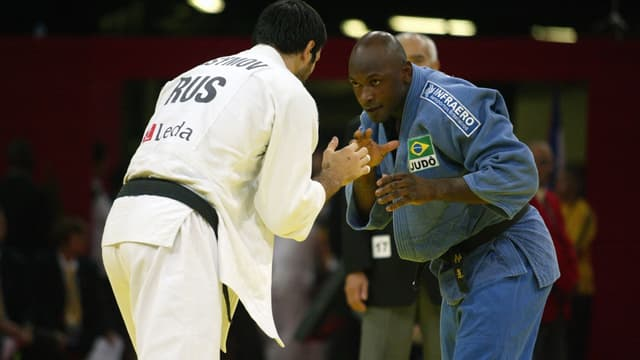 L'ancien judoka brésilien Mario Sabino Junior aux Championnats du monde 2006, à Paris le 16 septembre 2006