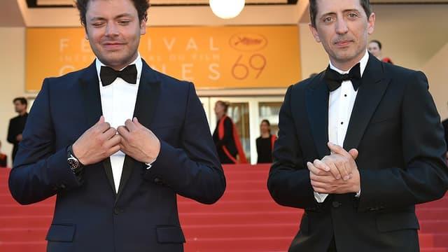 Kev Adams et Gad Elmaleh au festival de Cannes en mai 2016.