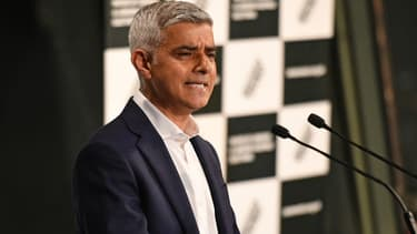 Le maire travailliste de Londres Sadiq Khan réélu pour un deuxième mandat, le 8 mai 2021