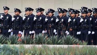 La police de Los Angles.