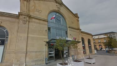 La gare de Nancy.