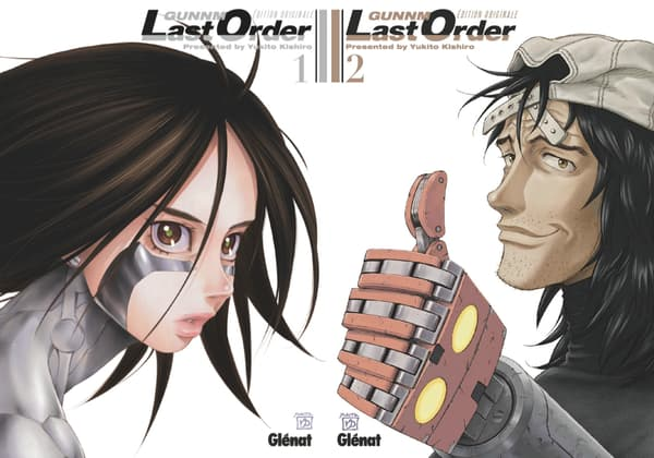 Couvertures du manga Gunnm Last Order