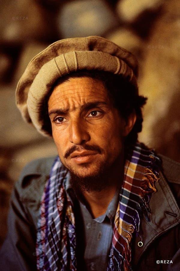 Cette photo du colonel Massoud, que Reza a suivi de longues années, a fait le tour du monde.
