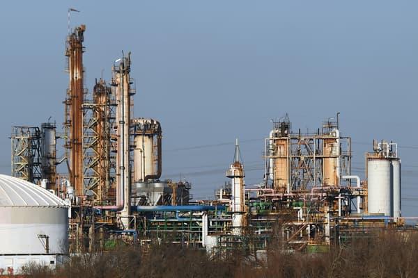 L'usine du groupe industriel Kem One dans le Golf de Fos, en mars 2017