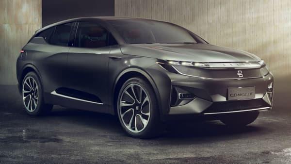 Ce concept prend la forme d'un crossover avec une signature lumineuse originale à l'avant et à l'arrière.