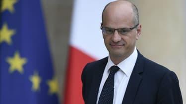 Jean-Michel Blanquer le 18 mai 2017 à l'Élysée