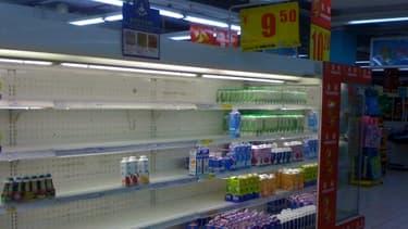Le scandale du lait à la mélamine a créé une forte demande chinoise en lait infantile étranger.