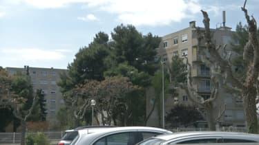 Le quartier de la Devèze à Béziers, le dimanche 4 avril 2021.