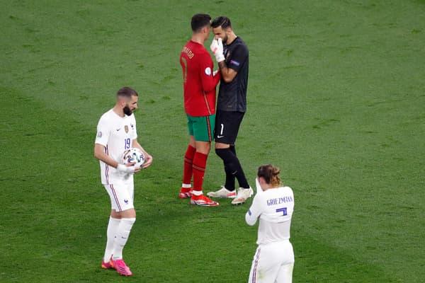 Karim Benzema a choisi de tirer le penalty, habituellement attribué à Antoine Griezmann