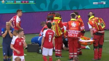 Eriksen victime d'un malaise