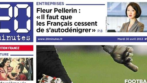 L'édition française du quotidien gratuit affiche des pertes pour la première fois depuis 2007