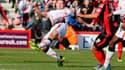 Steven Gerrard en Cup contre Bournemouth