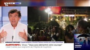 """Pr Arnaud Fontanet: """"Le port du masque dans les lieux fermés va devenir une nécessité"""""""