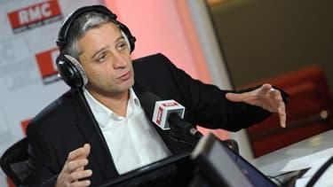 Jean-François Achilli, dans le studio de RMC