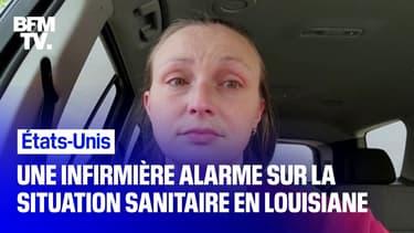 États-Unis: une infirmière alarme sur la situation épidémique en Louisiane
