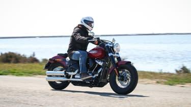 Une Harley Softail Slim