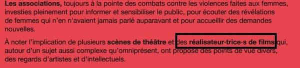 La mairie de Paris utilise l'écriture inclusive.